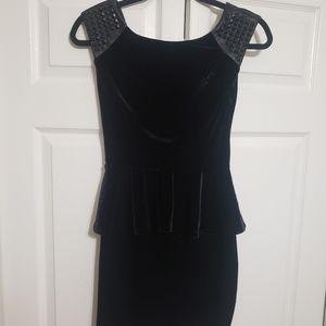Guess velvet studded cocktail dress
